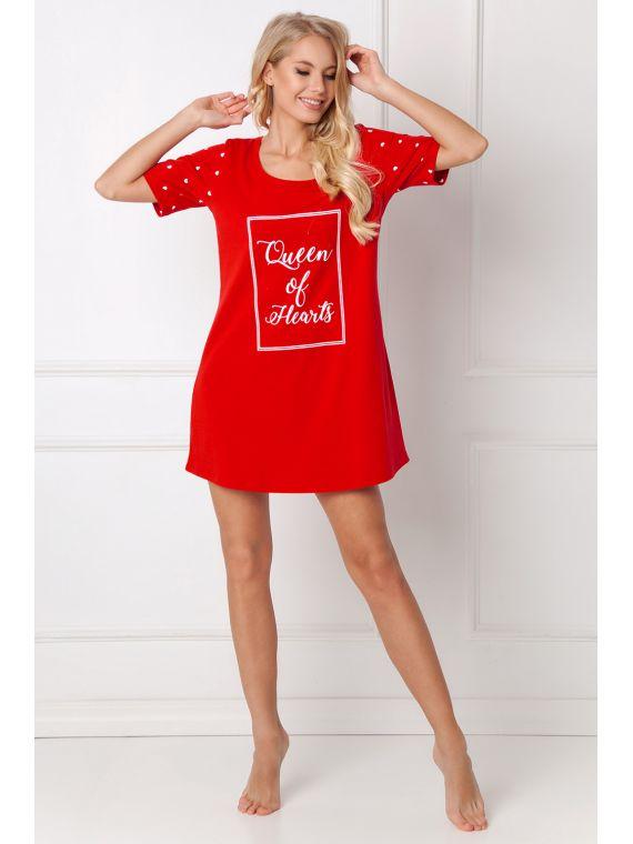 Koszula Nocna Hearty Red -...