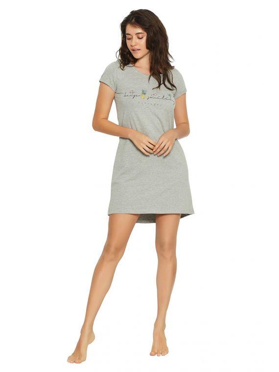 Koszulka nocna Favor 38061-90X Grafit - Henderson