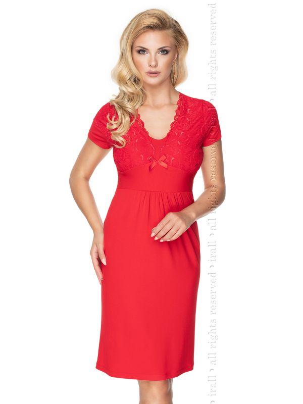 Koszulka nocna Gia Quenn Size Red - Irall