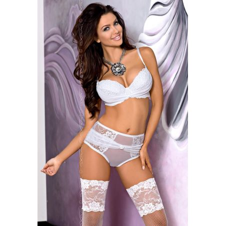 Biustonosz Push-up Model V-5561 Cristal White