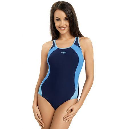 Kostium Kąpielowy Model Alinka Navy/Blue