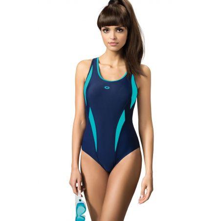Kostium Kąpielowy Model Aqua III Navy/Blue