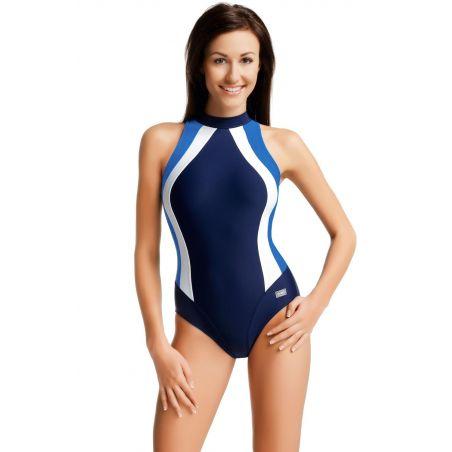 Kostium Kąpielowy Model Olivia Navy/Blue