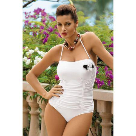 Kostium Kąpielowy Model Shila M-202 White