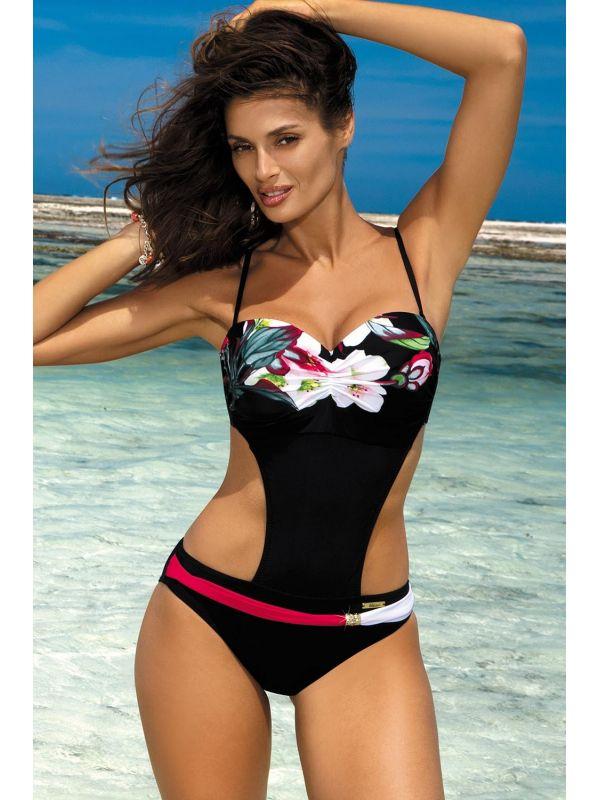 Kostium Kąpielowy Model Mandy Nero M-423 Black