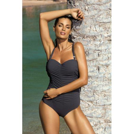 Kostium Kąpielowy Model Fabienne Fuliggine M-324 Popiel