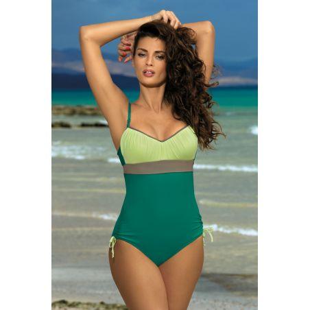 Kostium Kąpielowy Model Whitney Balsamo-Germoguo-Fango M-253 Green/Pistacja