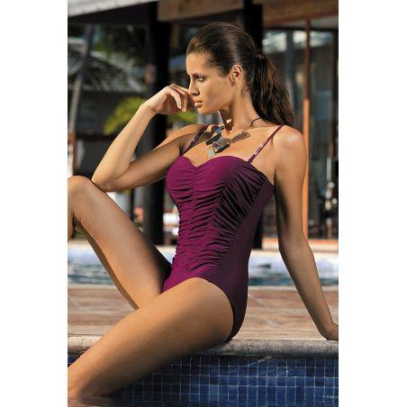 Kostium kąpielowy Model Gabrielle 2 Vigneto M-243 Bakłażan(Violet)