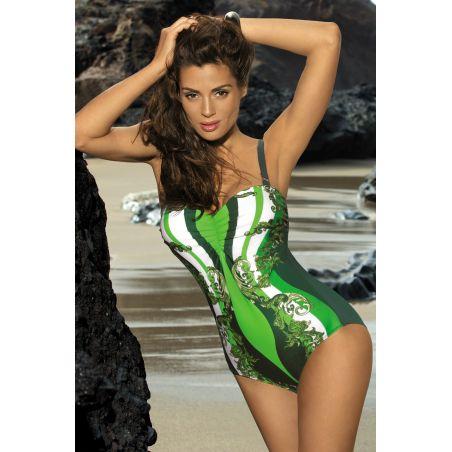 Kostium Kąpielowy Model Miriam Sherwood M-329 Green
