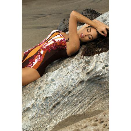 Kostium Kąpielowy Model Miriam Seppia M-329 Brown/Orange