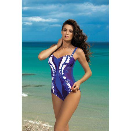 Kostium Kąpielowy Model Miriam Baltimora M-329 Szafir/Violet
