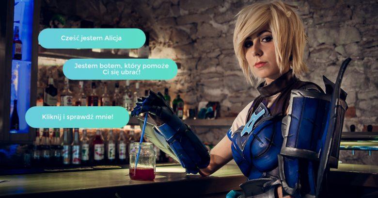 Alicja chatbot w sklepie KOSTIUM.COM